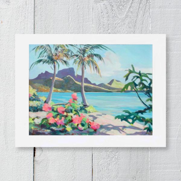 Montagne Otemanu Bora Bora